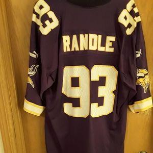 Puma Shirts - Classic John Randle  93 MN Vikings Jersey 2X 76e80c509